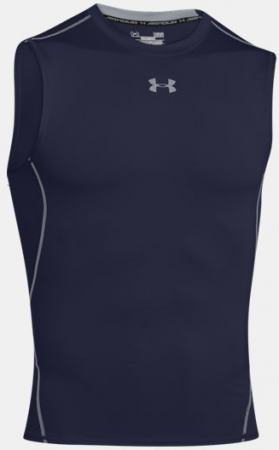 UA HeatGear Sleeveless Shirt - Navy