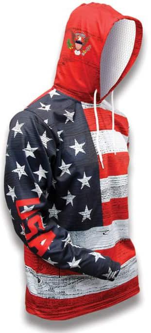 USA World Sublimated Warmup Hoodie
