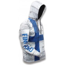 Finland World Sublimated Warmup Hoodie