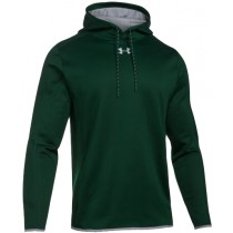 UA Double Threat Fleece Hoodie - Forest