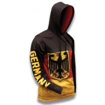 Germany World Sublimated Warmup Hoodie