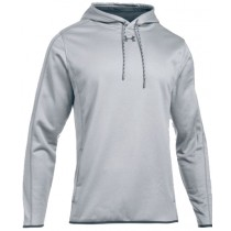 UA Double Threat Hoodie - Grey Heather