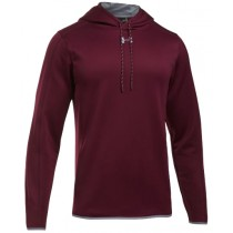 UA Double Threat Fleece Hoodie - Maroon