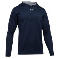 UA Double Threat Fleece Hoodie - Navy