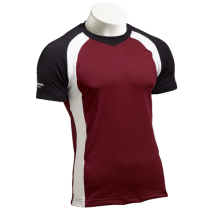 PFT 195 - Black/White/Maroon