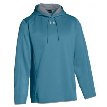 UA Double Threat Fleece Hoodie - Teal