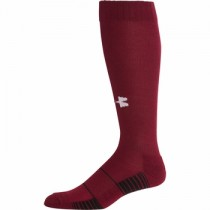 UA Team Socks - Cardinal