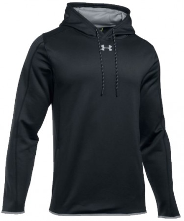 UA Double Threat Fleece Hoodie - Black