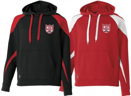 NIU - Fleece Hoodie (with logo)