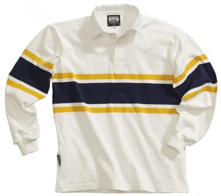CAS 218 - White/Gold/Navy