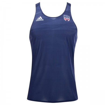 Adidas Old Glory DC Rugby Training Singlet
