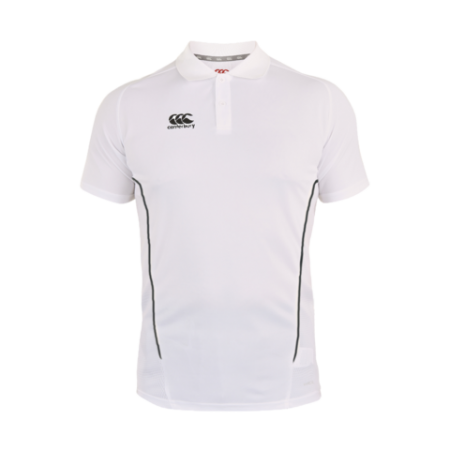 Team Dry Polo - White