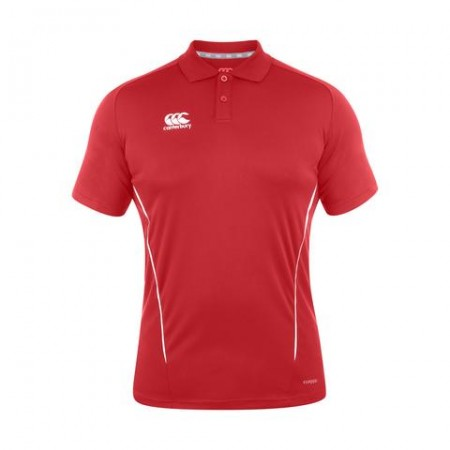 Team Dry Polo - Red