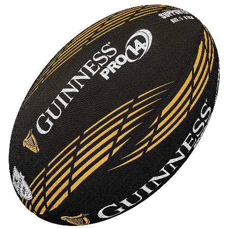 Gilbert Guinness Pro 14 Supporter Rugby Ball