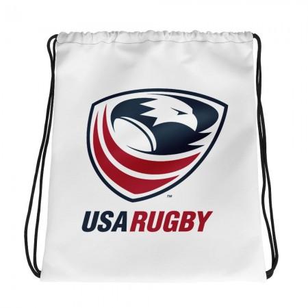 USA Rugby Drawstring Bag
