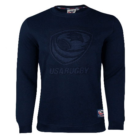 USA Rugby Premium Elastic Jacquard Men's Crewneck Sweatshirt