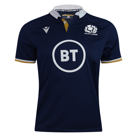 Macron Scotland 21 Rugby Home Jersey