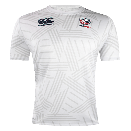 Canterbury USA RUGBY Men's White Jersey