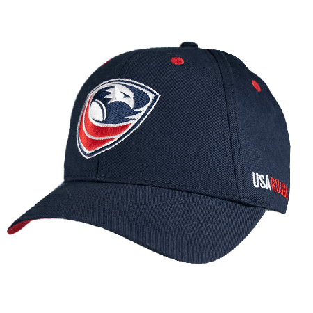 USA Rugby Premium Adult Baseball Cap