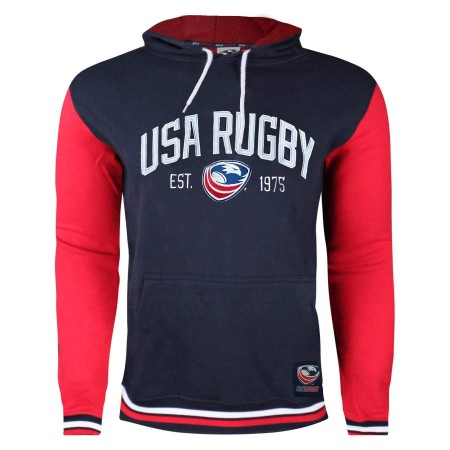 USA Rugby Twill/Embroidered Premium Men's Hoodie