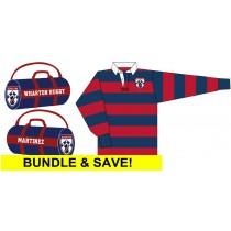 Wharton - Barbarian Rugby Jersey & Kit Bag
