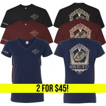 Ruggerfest - T-Shirt and/or Women's V-Neck 2 for $45