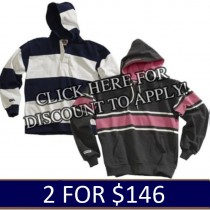 In-Stock Hoodies 2 for $146.00