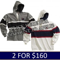 World Rugby Hoodies 2 for $160.00