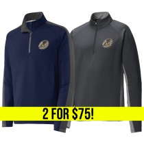 Ruggerfest - 1/2 & 1/4 Zip Pullover 2 for $75