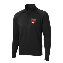 STL Ruggerfest 1/2 Zip Pullover - Black
