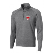 STL Ruggerfest 1/2 Zip Pullover - Charcoal Grey Heather