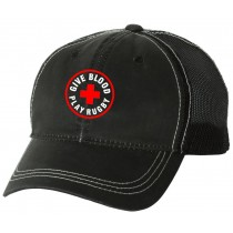 Give Blood Play Rugby Weathered Cap