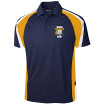 Neuqua - Navy/Gold/White Polo