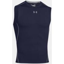 UA HeatGear Sleeveless Shirt - Navy