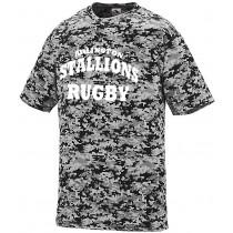 Stallions - Camo Wicking Shirt