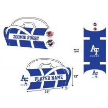 AF Rugby Kit Bag - Blue/White