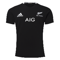 Adidas All Blacks 2021 Home Rugby T-Shirt