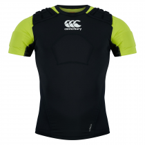 Canterbury Adult Rugby Pro Protection Vest (Black, White & Green)