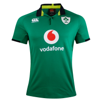 Canterbury Ireland Rugby Green Home S/S Classic Jersey