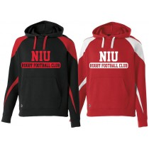 NIU - Fleece Hoodie (with wording)