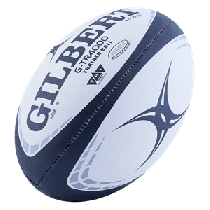 Gilbert Navy G-TR4000 Training Rugby Ball