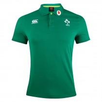Canterbury Ireland Rugby Green Cotton Polo