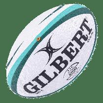 Gilbert Green Atom Match Rugby Ball