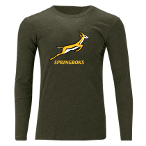 South Africa Springboks Off Field T-Shirt LS