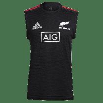 Adidas All Blacks Rugby Black 2021 Singlet