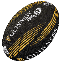 Gilbert Guinness Pro 14 Supporter Rugby Ball