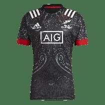 Adidas Māori All Blacks Home Rugby Jersey