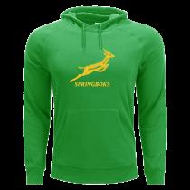 South Africa Springboks Rugby Green Hardcore Hoodie