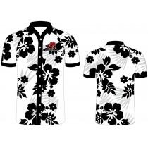 Lions Hawaiian Button Up