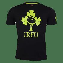 Canterbury Ireland Rugby Black Logo T-Shirt